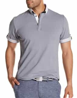 Stylish Gray Polo