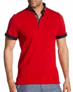 Designer Red Polo