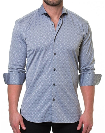 Fashionable Gray Button Down