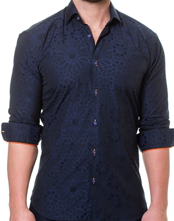 Dark Blue Fashion Shirt
