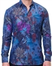 Hawaiian Floral Dress Shirt