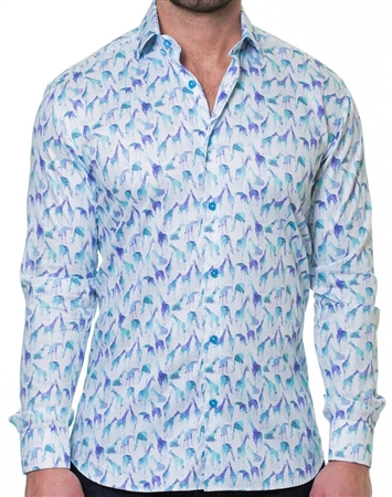 Designer Multicolor Dress Shirt