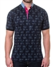 Modern Navy Short Sleeve Polo