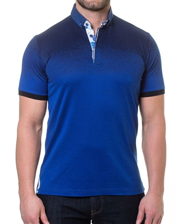 Fashion Fit Navy Polo