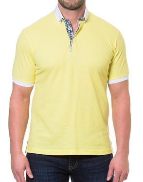 Yellow Summer Fashion Polo