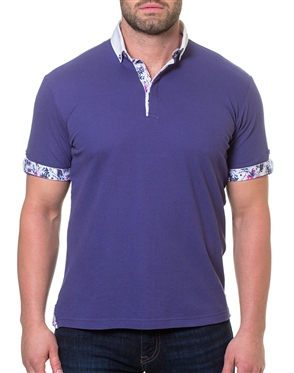 Men's Purple Polo