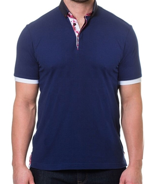 Modern Navy Polo Shirt