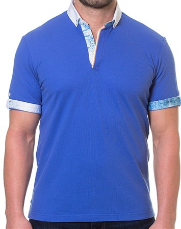 Blue White Polo Shirt