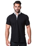 Modern Casual Black Polo Shirt