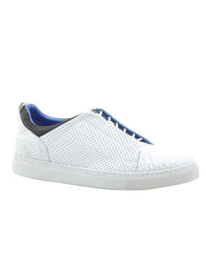 Mens Casual Shoes - Luxury White Sneakers