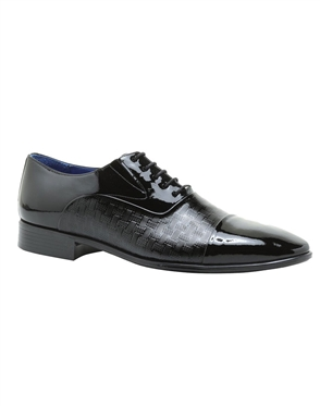 Designer Black Dress Shoes