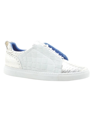 White Alligator Shoes