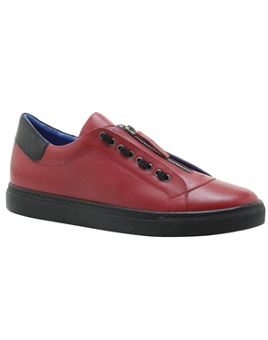 red italian shoes
