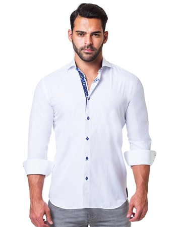 Shop Men's Fashion Shirt - Jasmin White