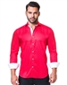 Attractive Dress shirt in satin red