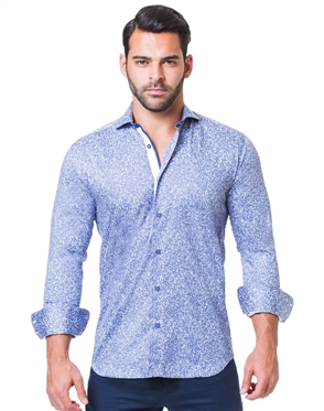 Nice Fittin Woven -  Rush Blue Dress Shirt