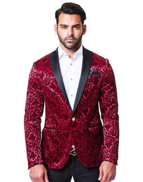 Luxury Red Sport Coat