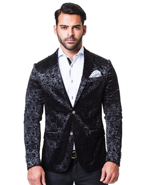 Designer Black Sport Coat