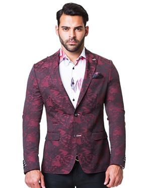 Fashionable Red Sport Coat