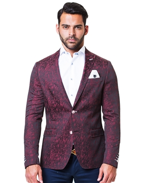 Luxury Red Blazer