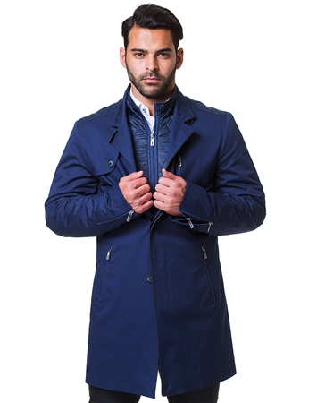 Designer Navy Peacoat Ensemble