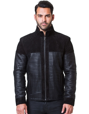 Innovative Black Leather Jacket