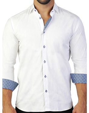 Business Casual White Dress Shirt