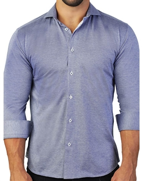Comfortable And Stylish Blue Dress Shirt