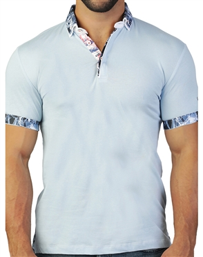 Designer Blue Polo