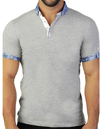 Luxury Grey Polo