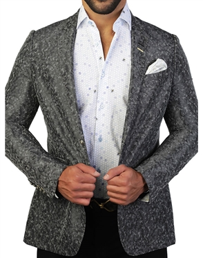 Luxury Black Camo Sport Coat