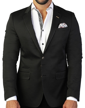 Luxury Black Sport Coat