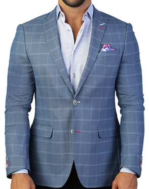 Grey Check Sport Coat
