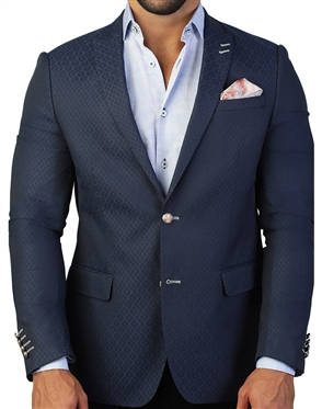 Black Diamond Jacquard Blazer