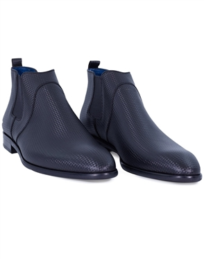 Black Designer Fashion Dress Shoes | Classic Black Dress Boots