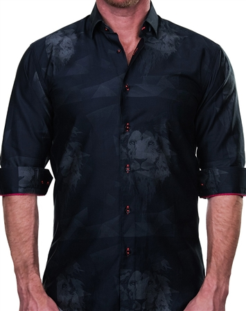 Luxury Sport Shirt - Lion Print