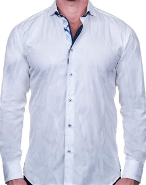 Luxurious White Dress Shirt