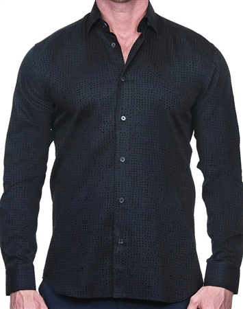 Black Dot Dress Shirt