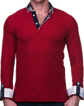 Hot New Red Polo Shirt