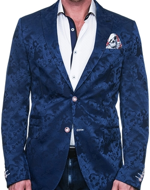 Luxury Jacket - Silky Blue Blazer