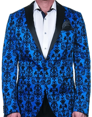 Elegant Blue Sport Coat