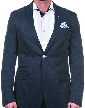 Luxury Navy Blue Blazer