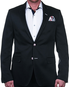 Intriguing Black Sport Coat