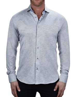 Handsome Grey Dress Shirt