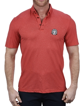 Stretchy Red Polo