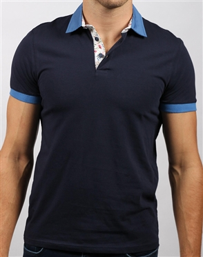 Casual Navy Polo