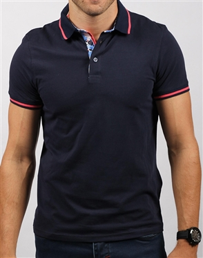Shop Men's Casual Sport Polo - Modern Navy Polo