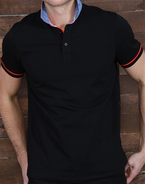 Luxury Black Polo