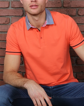 Luxury Orange Polo
