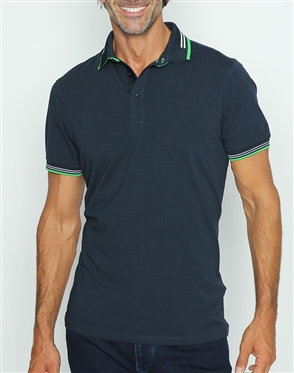 Sporty Classic Navy Polo Shirt